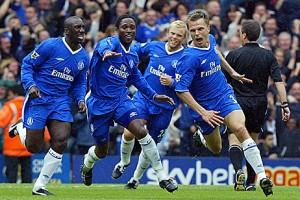 Jesper Grønkjær var dagsins maður fyri Chelsea.