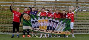 Silvurliðið hjá Arsenal Føroyar. (mynd: Martin D. Simonsen)