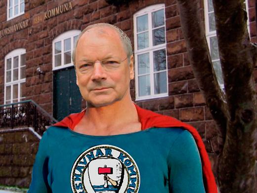 Havnarmann er nýggja superhetjan í Havn.