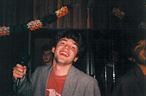 MC-Allah á konsertini í Diskotek Hollywood nýggjársaftan 1991/92.